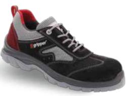 Gripper - Gripper Lena GPR-71 S1 Siyah Spor İş Ayakkabısı