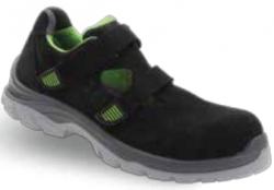 Gripper - Gripper Rio GPR-161 S1 Siyah-Yeşil Spor İş Ayakkabısı