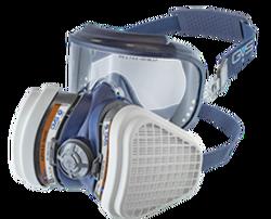 GVS Elipse - GVS Elipse Integra Gözlük İle Entegre A2P3 Gaz ve Toz Maskesi SPR537