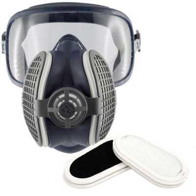 GVS Elipse P3 Aktif Karbonlu Tam Yüz Maskesi - Koku Filtreli - SPR405