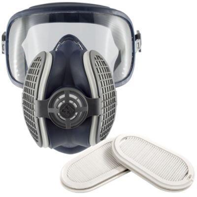GVS Elipse P3 Integra Gözlüklü Toz Maskesi - Tam Yüz Maske - SPR406