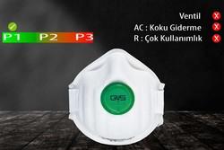GVS Elipse - GVS FFP1 Ventilsiz Konik Tip Toz Maskesi