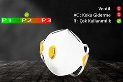 GVS Elipse - GVS Segre P2 Ventilsiz Katlanabilir ve Yeniden Kullanılabilir Toz Maskesi - F20000