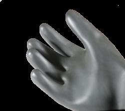Faba - H1-45 Siyah Düz Lateks Eldiven