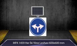 MFK - Her İki Yöne Akülü Solar Levha MFK 9607