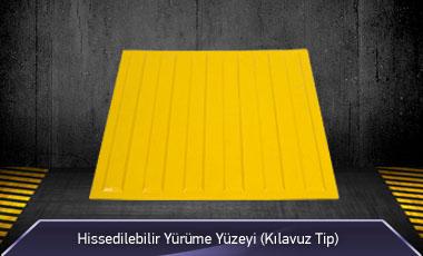 Hissedilebilir Yürüme Yüzeyi Klavuz Tip MFK1087-1 - 5000