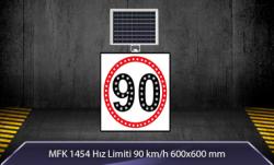 MFK - Hız Limiti 90Km/h Akülü Solar Levha MFK 9620