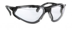 Infield - İnfield 9320 155 Terminator Xtra Black PC AF UV Koruyucu Gözlük