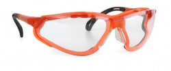 Infield - İnfield 9321 155 Terminator Xtra Orange PC AF UV Koruyucu Gözlük