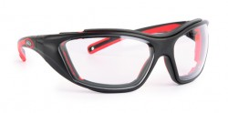 Infield - İnfield 9614 155 Combor Black/Red PC AF UV Koruyucu Gözlük