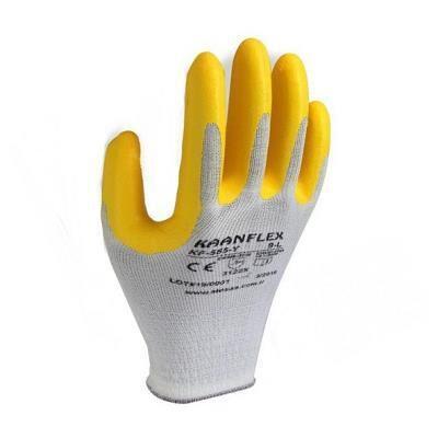 Kaanflex Sarı Nitril İş Eldiveni