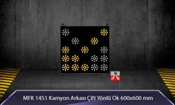 MFK - Kamyon Arkası Çift Yönlü Ok MFK9624