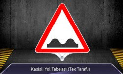 Kasisli Yol Tabelası Tek Taraflı MFK9207 - Thumbnail