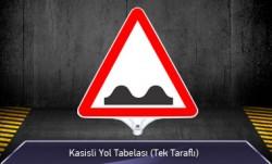 MFK - Kasisli Yol Tabelası Tek Taraflı MFK9207