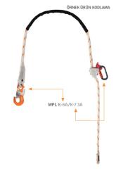Kaya Safety - Kaya Safety WPLWAK-6A Konumlandırma Lanyardı 3mt