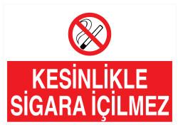 Propazar - Kesinlikle Sigara İçilmez İş Güvenliği Levhası - Tabelası