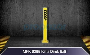 Kilitli Yatar Park Direği 8x8 MFK6288