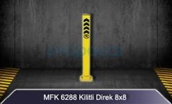 MFK - Kilitli Yatar Park Direği 8x8 MFK6288