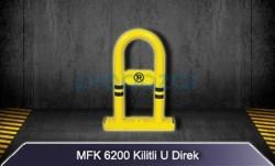 MFK - Kilitli Yatar U Direk Park Bariyeri MFK6200