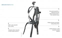 Drager - KİRALAMA - Drager Pas Lite Çelik Tüplü Kiralık Solunum Seti