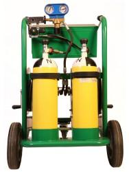 KİRALAMA - Kiralık 300 Bar Tekerlekli, Hava Tüplü Solunum Sistemi - Çift kullanıcılı - Thumbnail