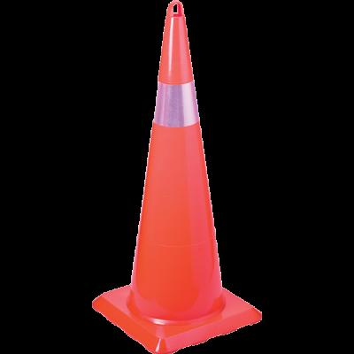 Kırılmaz Trafik Konisi 900 mm (Tek Reflektifli) – UT 5007
