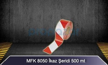 Kırmızı Beyaz İkaz Şeridi 500 mt MFK8050