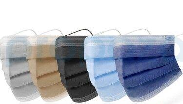 Kulak Acıtmaz Renkli Cerrahi Maske Modelleri 50li Kutuda