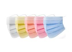 Kulak Acıtmaz Renkli Cerrahi Maske Modelleri 50li Kutuda - Thumbnail