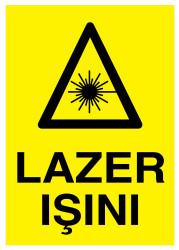 Propazar - Lazer Işını İş Güvenliği Levhası - Tabelası