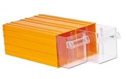 Mano Takım Çantası - Mano Sarı Plastik Çekmeceli Kutu