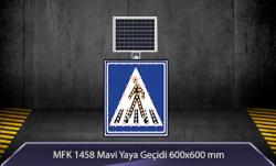 MFK - Mavi Yaya Geçidi Akülü Solar Levha MFK1458