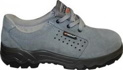 Mekap - Mekap 029 Yazlık Süet Çelik Burunsuz İş Ayakkabısı