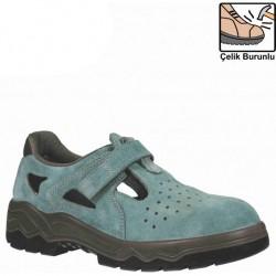 Mekap - Mekap 034 L Çelik Burunlu Sandalet