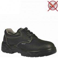 Mekap - Mekap 071 R Ecolux Deri Çelik Burunsuz Ayakkabı
