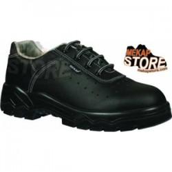 Mekap - Mekap 092 Bora Yazlık Deri Çelik Burunlu Ayakkabı