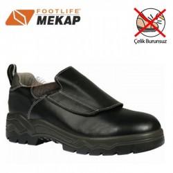 Mekap - Mekap 097 Bora İzabeci Deri Çelik Burunsuz Ayakkabı