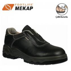 Mekap - Mekap 098 Bora Bağcıksız Çelik Burunlu Ayakkabı