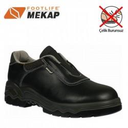 Mekap - Mekap 099 Bora Bağcıksız Çelik Burunsuz Ayakkabı