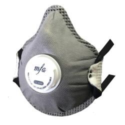 MFA - MFA F-267V AC FFP2 NR D Toz Maskesi Ventilli Aktif Karbon EKO