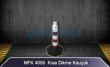 MFK 4055 Kısa Dikme 50mm Kauçuk Taban