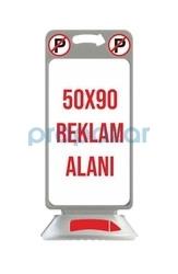 MFK - MFK 4540 Gri Pano Reklam Dubası