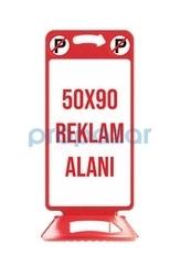 MFK - MFK 4545 Pano Reklam Dubası Kırmızı