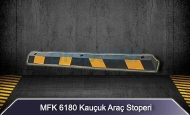 MFK 6180 - Kauçuk Araç Stoperi Uzun