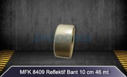 MFK - MFK 8409 Beyaz Petekli 46mtX10cm Reflektif Bant