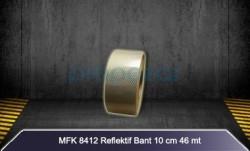 MFK - MFK 8412 Metalize Petekli Reflektif Bant - 46mt