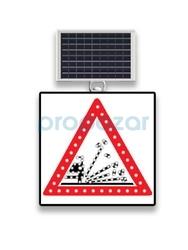 MFK - Mfk 9630 Gevşek Zeminli Yol Ledli Güneş Enerjili Solar Levha