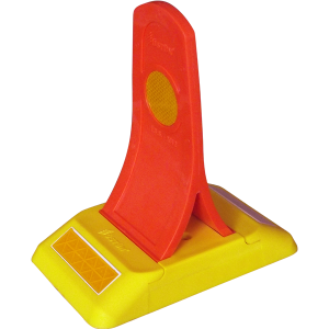 Mikroprizmatik Reflektif Şerit Ayırıcı Esnek Yol Butonu – UT 3202