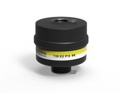 MPL Maske - MPL T28 E2P3 Rd40 Asit Gazları ve Buhar ve Toz Maske Filtresi