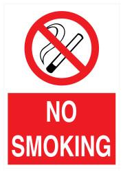 Propazar - No Smoking İş Güvenliği Levhası - Tabelası